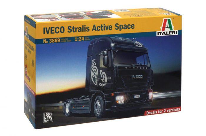 โมเดลรถหัวลาก Italeri IVECO Stralis Active Space 1/24