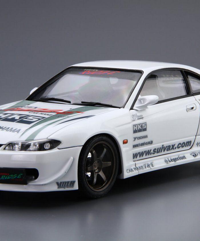โมเดลรถยนต์ อาโอชิม่า Aoshima VERTEX S15 Silvia 99 1/24