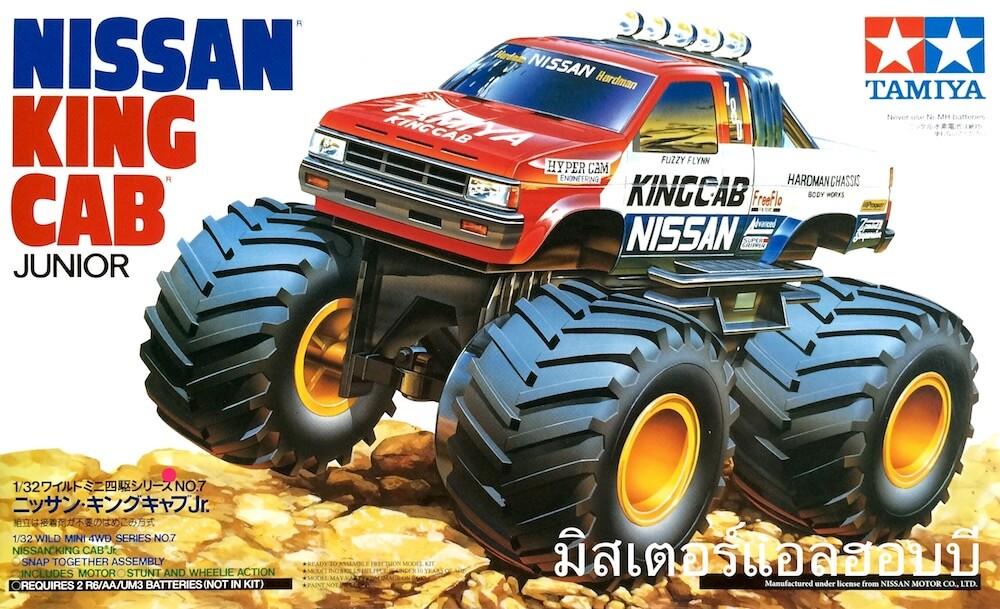 จำหน่าย รถมินิโฟล์วิว ทามิย่ามินิโฟร์วิล Mini 4WD NISSAN KING CAB Jr.