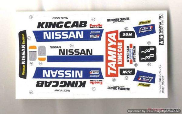 รถทามิย่า mini 4wd NISSAN KING CAB Jr. 1/32