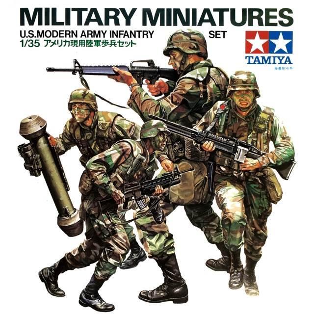 โมเดลทหารอเมริกัน ยุคใหม่ U.S. Modern Infantry Set 1/35