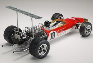 โมเดลรถยนต์ทามิย่า Team Lotus type 49B Etched Parts 1/12