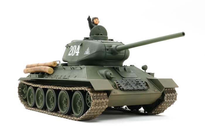 โมเดลรถถังรัสเซีย Russian Medium Tank T34/85 1/25