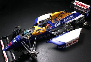 โมเดลรถเอฟวัน TA12029 Williams FW14B Renault 1/12