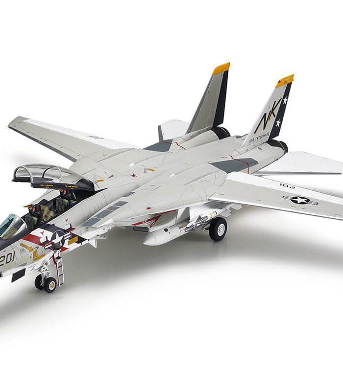 โมเดลเครื่องบินขับไล่ เอฟ-14 ทอมแคท 61114 Grumman F-14A Tomcat 1/48