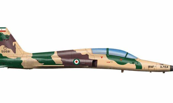 บ.ข.18 ค. ของทอ.ไทย F-5F Tiger II K 1/48