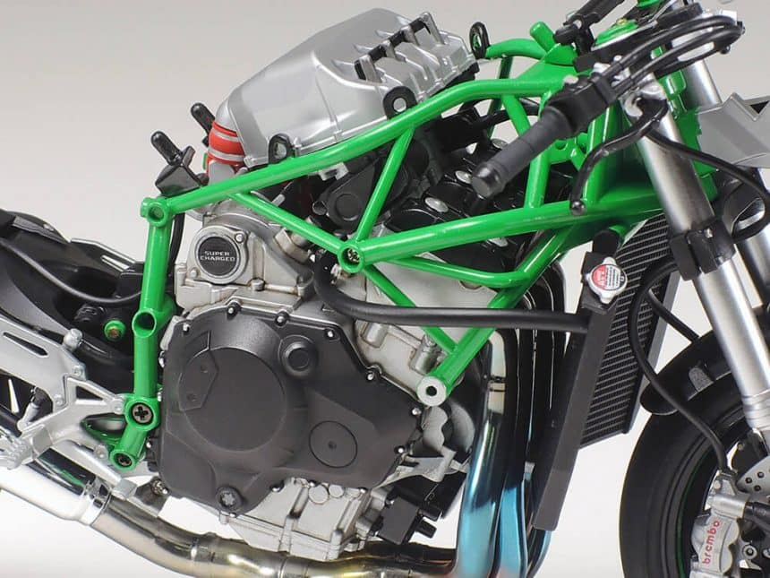 ทามิย่าคาวาซากิ 14131 Kawasaki Ninja H2R
