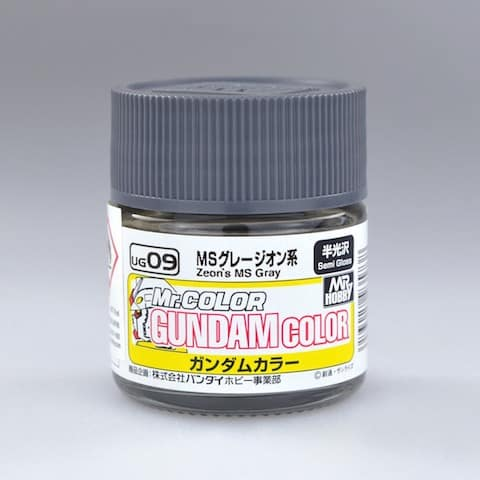 สีกันดั้ม UG09 Zeon's MS Gray Gundam Color 10ml