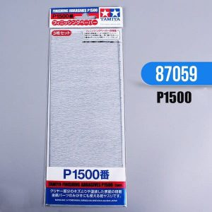 กระดาษทราย ทามิย่า Finishing Abrasives P1500 3 แผ่น