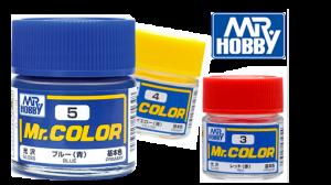 สีกันเซ่ mr.color สูตรผสมทินเนอร์