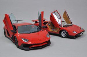 จำหน่าย Aoshima Lamborghini Aventador LP750-4 SV 1:24