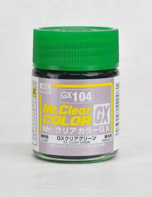 สีมิสเตอร์ฮอบบี้ GX104 CLEAR GREEN 18ML