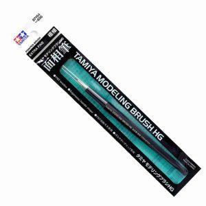 87154 พู่กันทามิย่า ปากกลมละเอียดพิเศษ Tamiya HG Pointed Brush Extra Fine