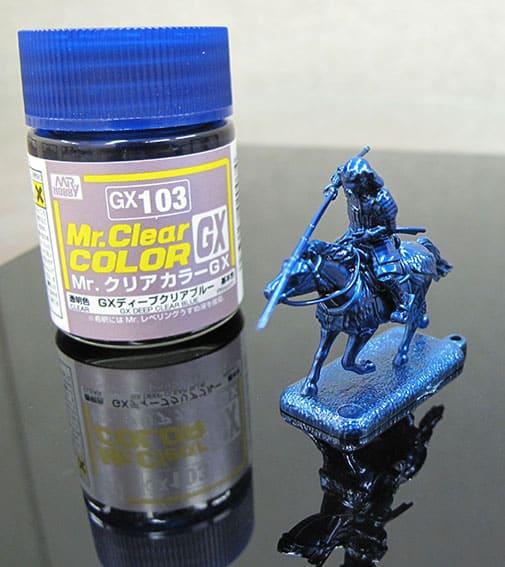 สีมิสเตอร์ฮอบบี้ GX103 CLEAR BLUE 18ML