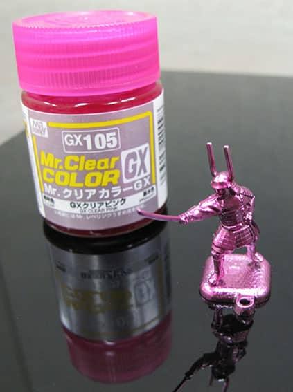 สีมิสเตอร์ฮอบบี้ GX105 CLEAR PINK 18ML