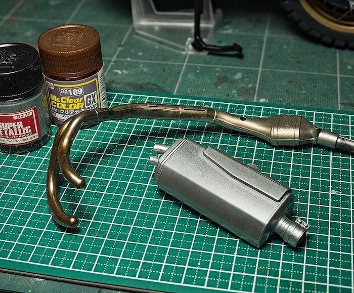 สีมิสเตอร์ฮอบบี้ GX109 CLEAR BROWN 18ML