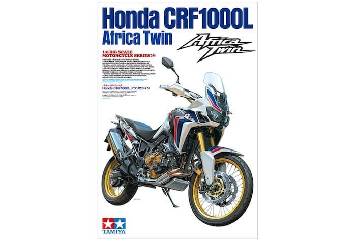 โมเดลรถบิ๊กไบค์ TA16042 Honda CRF 1000L Africa Twin 1/6