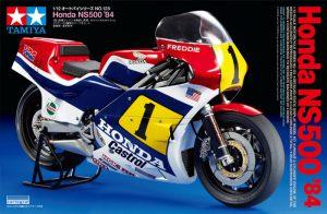 โมเดลประกอบ มอเตอร์ไซค์ ทามิย่า Honda NS500 '84 1/12