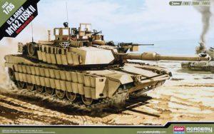 โมเดลรถถัง ACADEMY M1A2 Abrams SEP v2 TUSK II 1/35