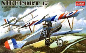 โมเดลเครื่องบิน นิเออปอร์ท Academy Nieuport 17