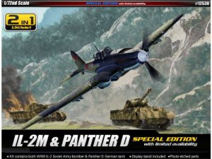Academy 1/72 IL-2m & Panther D Limited