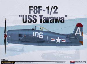 โมเดลเครื่องบิน Academy F8F-1/2 USS Tarawa 1/48