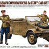 โมเดลประกอบ Russian Commanders Staff Car 4 Figures 1/35