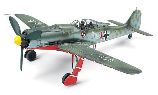 โมเดลเครื่องบินขับไล่ Focke-Wulf Fw190 D-9 JV44 1/72
