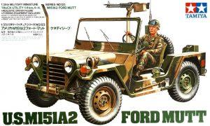 โมเดลรถจิ๊บ M151A2 FORD MUTT 1/35