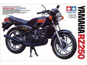โมเดลมอเตอร์ไซค์ Yamaha RZ250 1/12