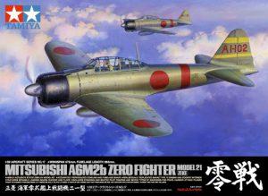 โมเดลเครื่องซีโร่ A6M2b Zero Fighter Model 21 (Zeke) 1/32