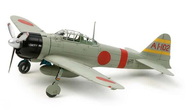 โมเดลเครื่องบินรบญี่ปุ่น Mitsubishi A6M2b (ZEKE) 1/72