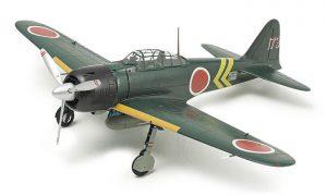 โมเดลเครื่องบินซีโร่ A6M3 3a Zero Fighter Model 22 1/72