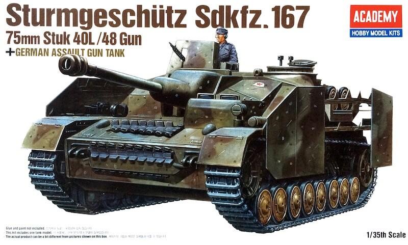 โมเดลรถถังสตุ๊ก AC13235 STURMGESCHUTZ IV 1/35