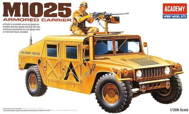 โมเดลรถฮัมวี่ AC13241 M1025 ARMORED CARRIER 1/35