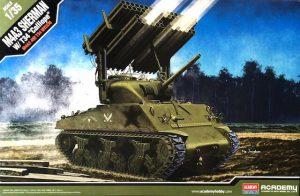 โมเดลรถถัง M4A3 SHERMAN W/T34 CALLIOPE 1/35