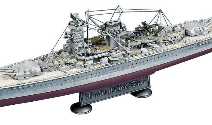 โมเดลเรือ Academy 14103 German Graf Spee 1/350