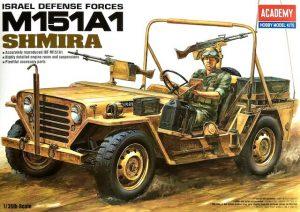 โมเดลรถจี๊บ AC13004 M151-A1 SHIMIRA 1/35