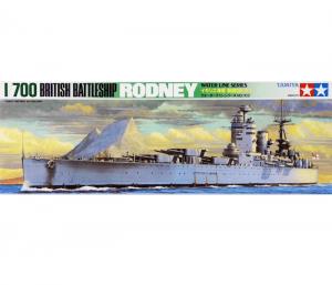โมเดลเรือรบอังกฤษ ทามิย่า British Battleship Rodney 1/700