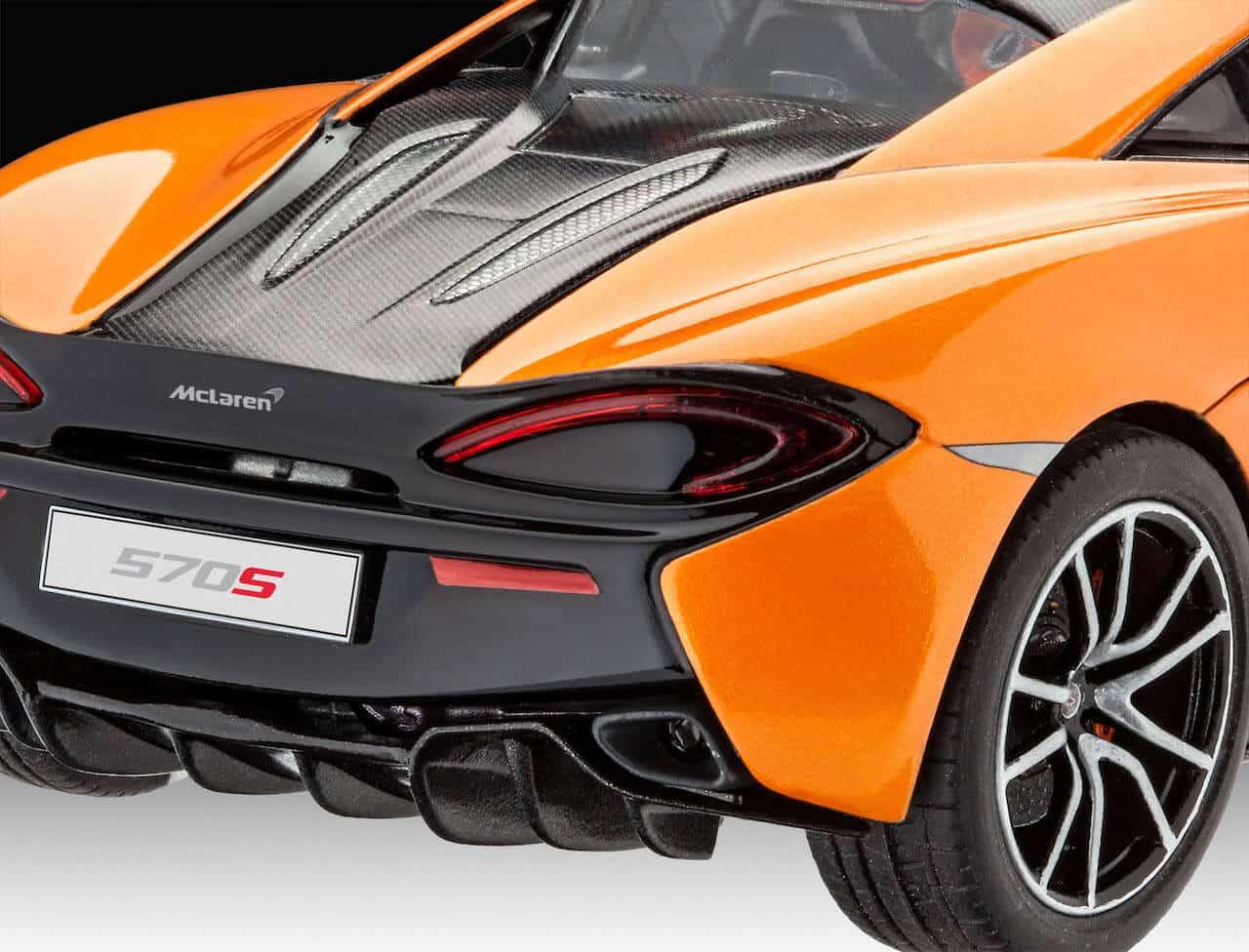 โมเดลรถแมคลาเรน McLaren 570S 1/24