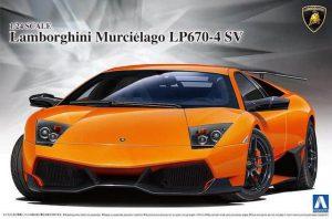 โมเดลรถลัมโบร์กีนี LAMBORGHINI MURCIELAGO LP670-4 SV 1/24