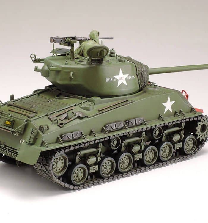 โมเดลรถถัง M4A3E8 Sherman Easy Eight Korean War 1/35
