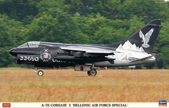 โมเดลเครื่องบิน A-7E Corsair HAF Special 1/48