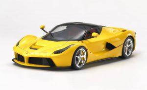 จำหน่าย โมเดลรถลาเฟอรารี่ Ferrari LaFerrari Yellow Version 1/24