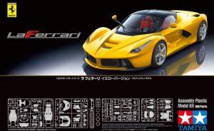 โมเดลรถลาเฟอรารี่ Ferrari LaFerrari Yellow Version 1/24