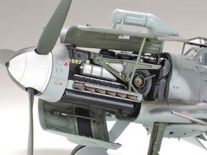 โมเดลเครื่องบิน ทามิย่า Messerschmitt Bf 109 G-6 1/48