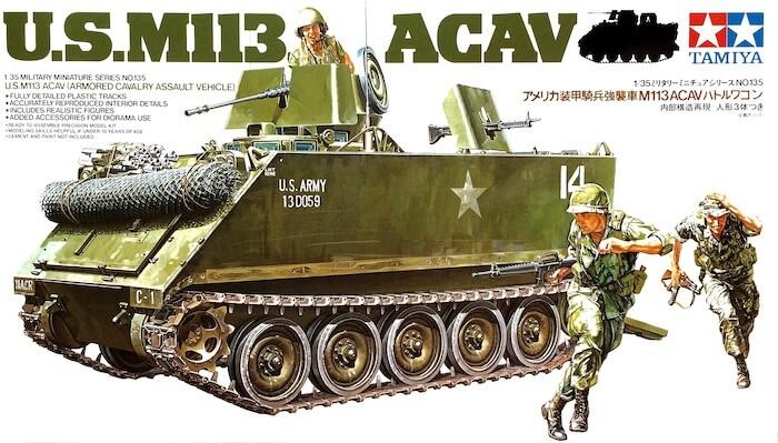 TAMIYA 35135 U.S. M113 ACAV 1/35