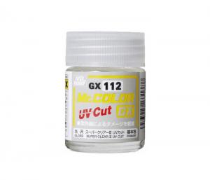 สีเคลียร์กันยูวีชนิดขวด GX112 UV CUT GLOSS ( เงา )
