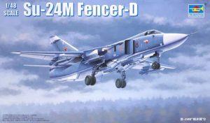 โมเดลเครื่องบิน Trumpeter Su-24M Fencer-D 1/48