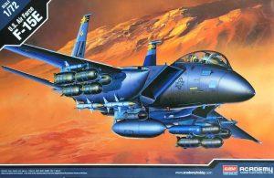 โมเดลเครื่องบิน Academy 12478 F-15E STRIKE EAGLE 1/72